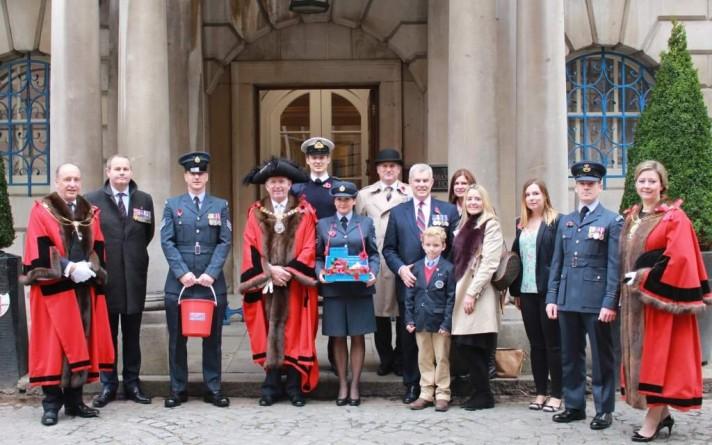 lord-mayor on Poppy Day