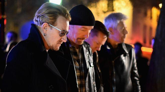 Участники группы U2