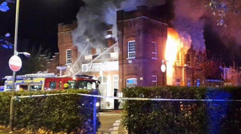 Seven Sisters Fire 1