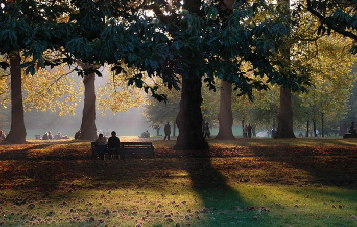 Досуг: 10 великолепных парков Лондона