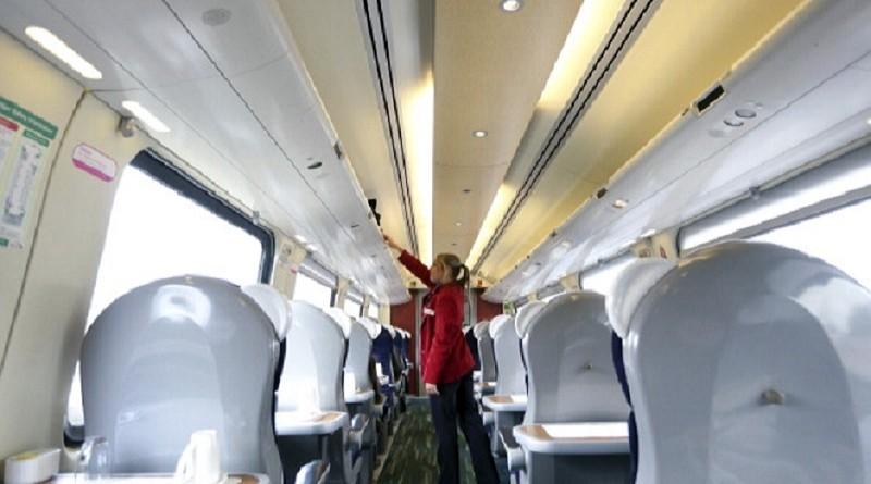 Первый класс поезд Британия