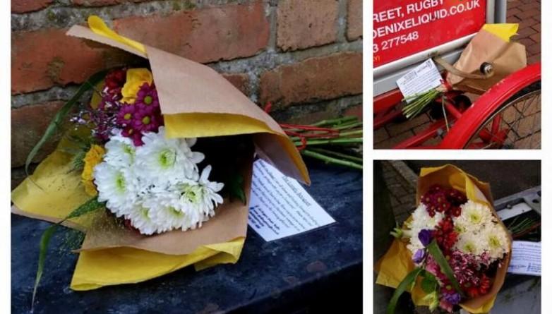 Досуг: Загадочные букеты на улицах Лондона