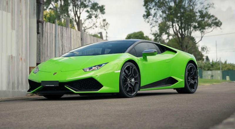 Бизнес и финансы: Жители Вулверхэмптона смогут заказывать в качестве такси Lamborghini Huracán