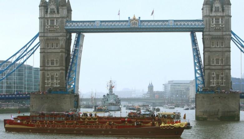 Досуг: В честь дня рождения Королевы по Темзе пройдет флотилия