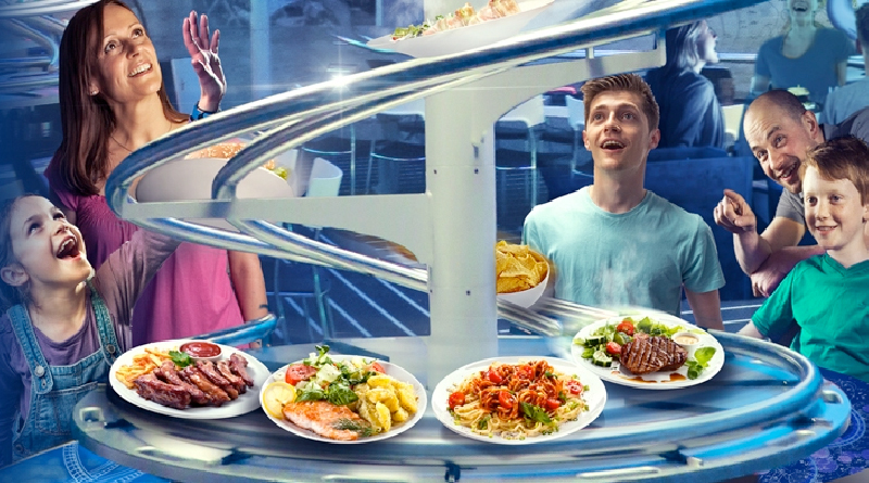 Видео: Футуристический ресторан или гурме-аттракцион?
