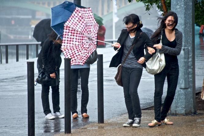 непогода в Лондоне