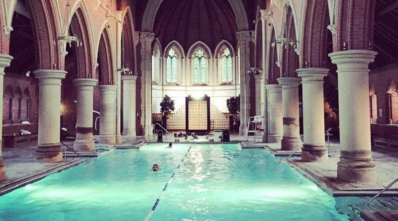 бассейн в церкви