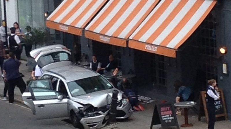 авария в Камдене