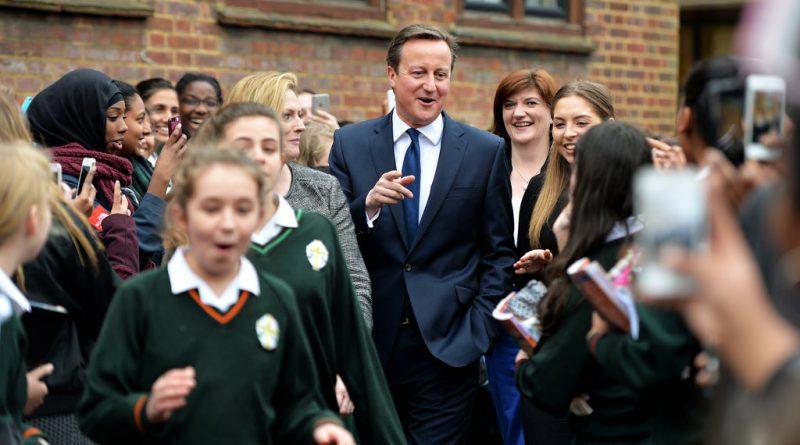 визит Кэмерона в школу