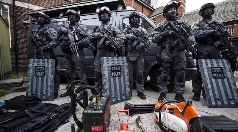 антитеррористическое подразделение полиции Лондона