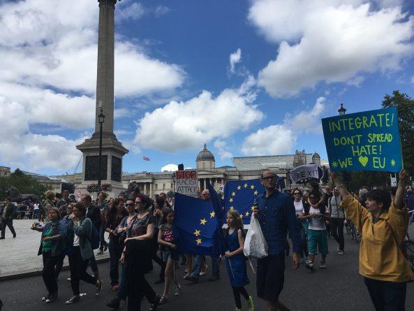 Общество: «Марш за Европу»: в Лондоне прошла акция протеста против результатов Brexit
