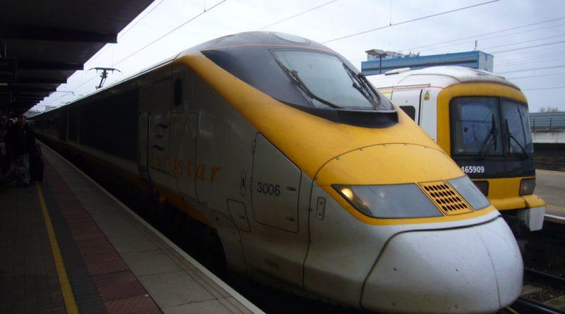 поезд Eurostar