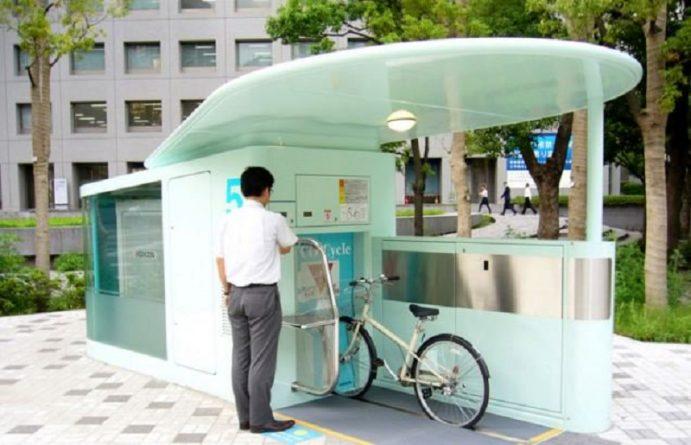 подземная велостоянка