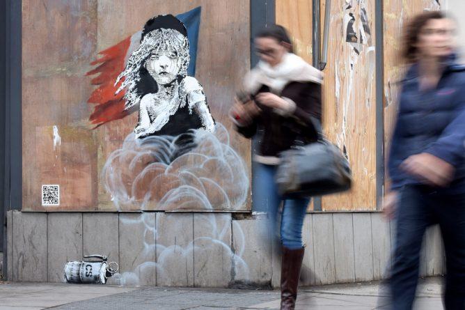 Искусство: Работы Banksy в Лондоне: что и где?