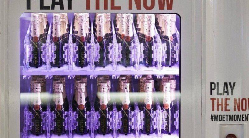 автомат с шампанским