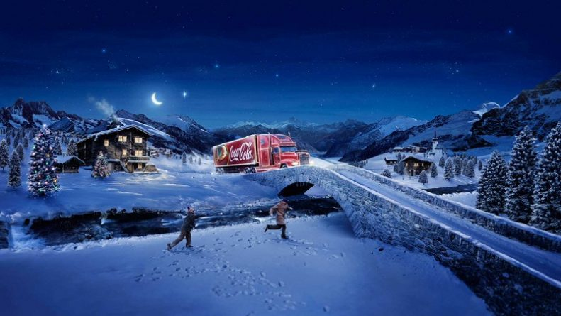 грузовик Coca-Cola