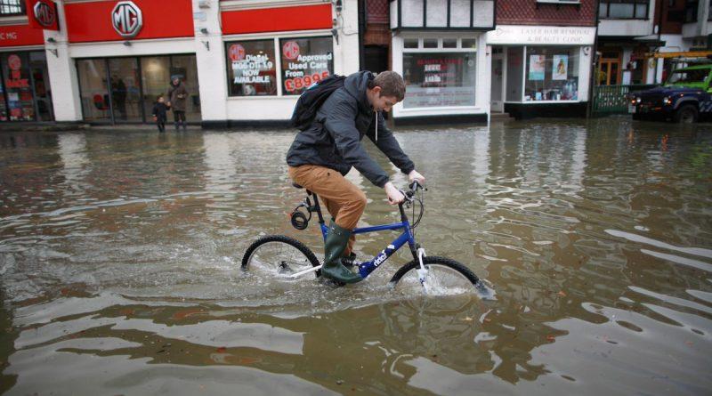 flood in England