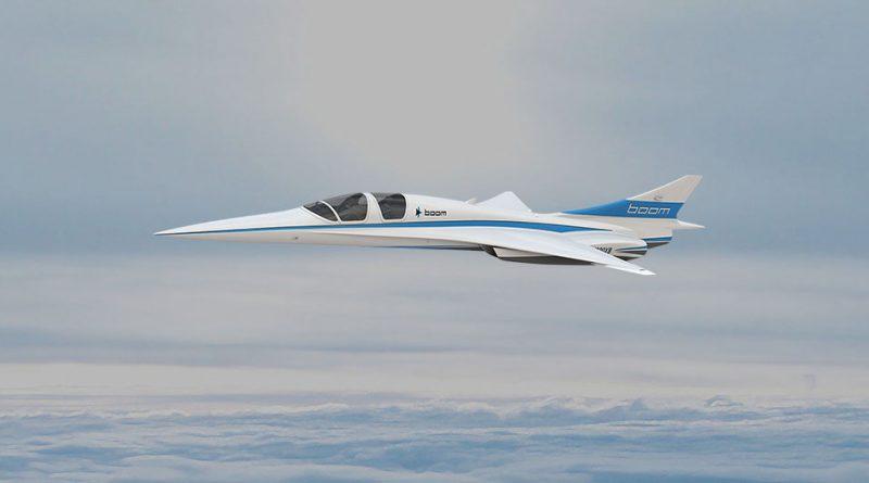 Технологии: Создан новый сверхзвуковой пассажирский самолет