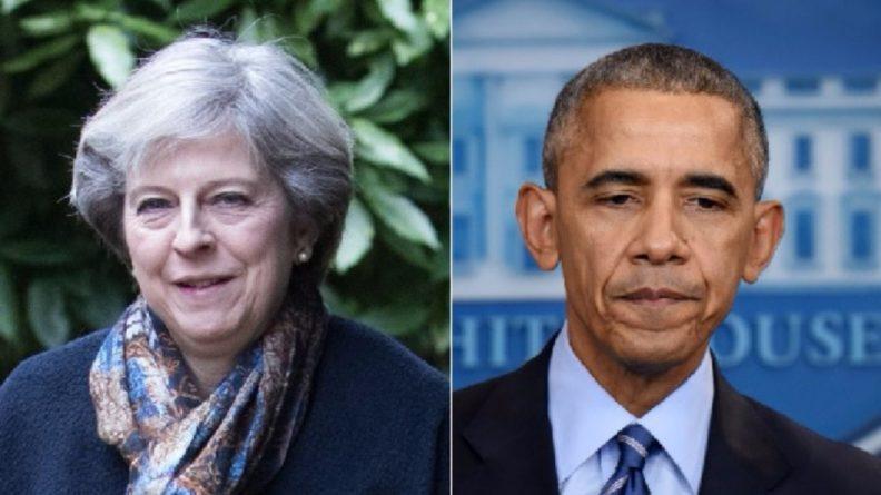 Политика: Тереза Мэй неожиданно раскритиковала администрацию Обамы