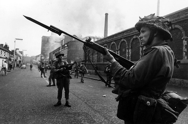 british troops in Northern Ireland