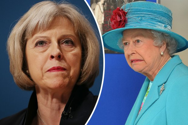 Theresa May-Queen