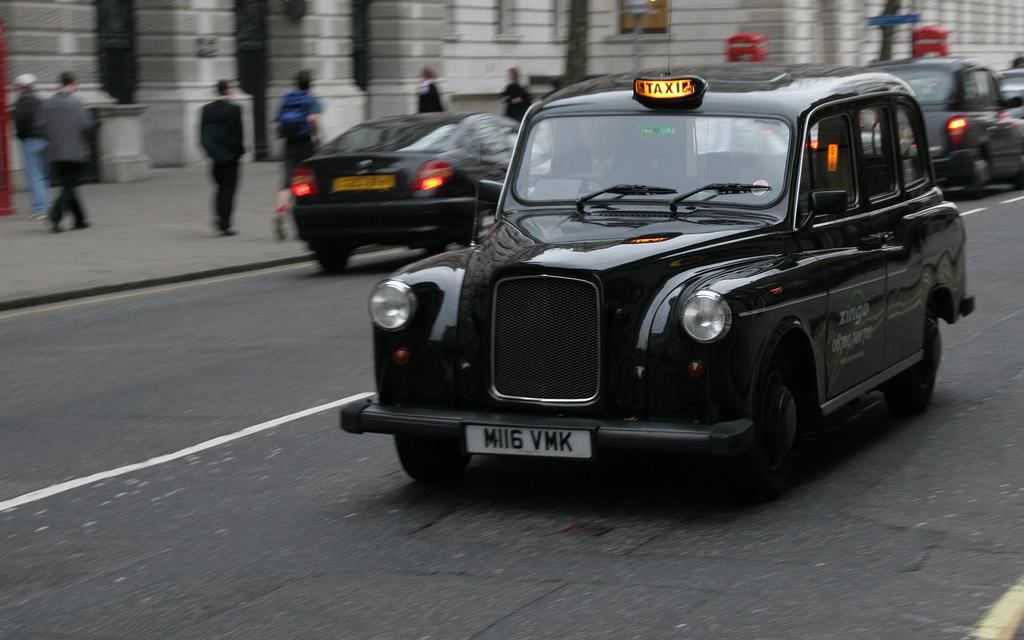 такси в англии называют музей