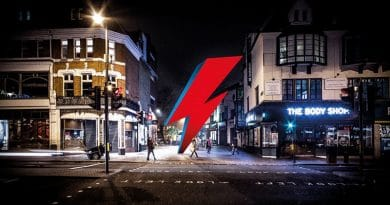 В Лондоне планируют построить памятник в честь Дэвида Боуи