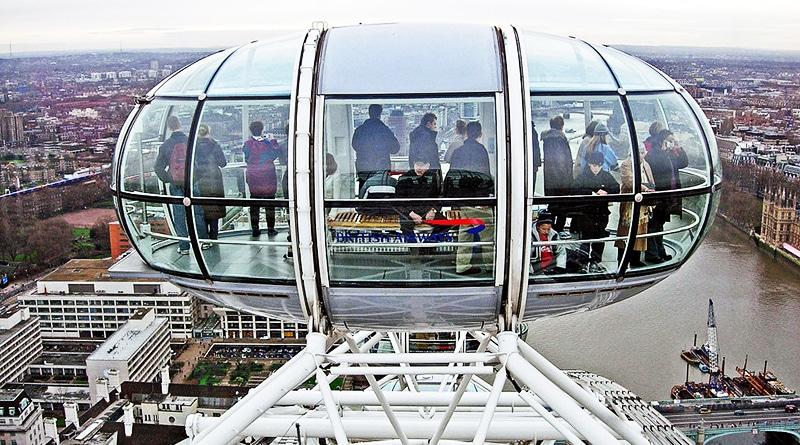 Досуг: Двум счастливчикам выпадет шанс провести ночь на Лондонском глазе