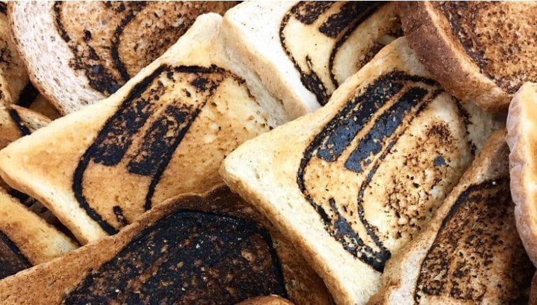 Искусство: Группа художников продает тосты по 275 фунтов в Shoreditch