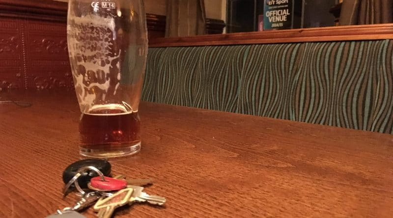 keys and pint
