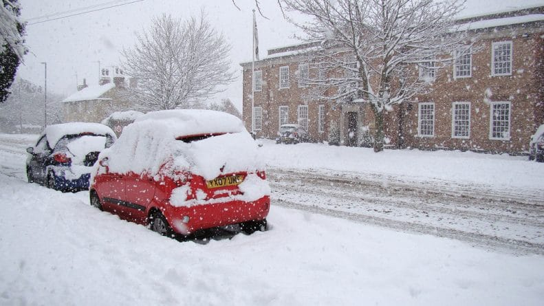 Погода: Погода в Британии: снова снег и мороз