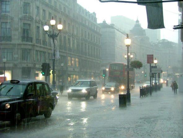 Погода: Погода в Лондоне: дождь всю неделю