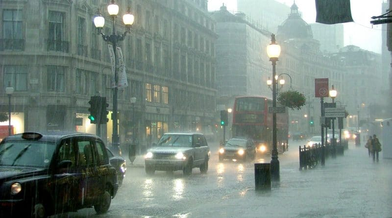 Rain in London