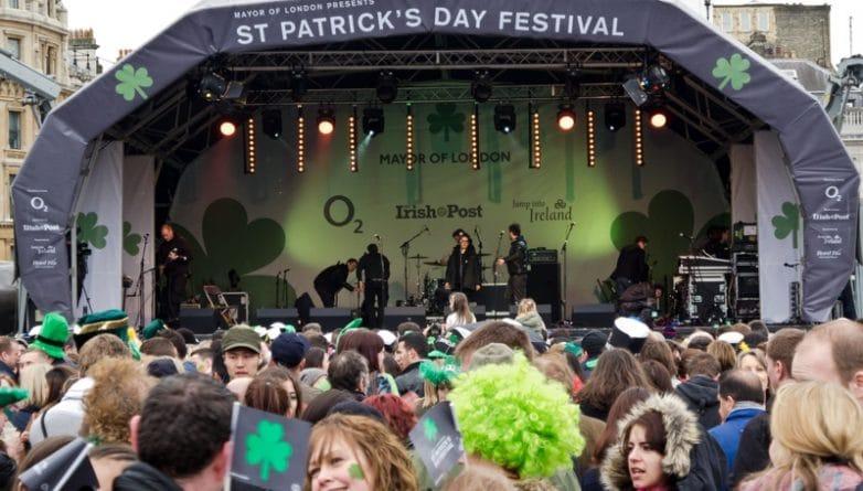 Досуг: Парад в честь Дня святого Патрика и фестиваль на Trafalgar Square