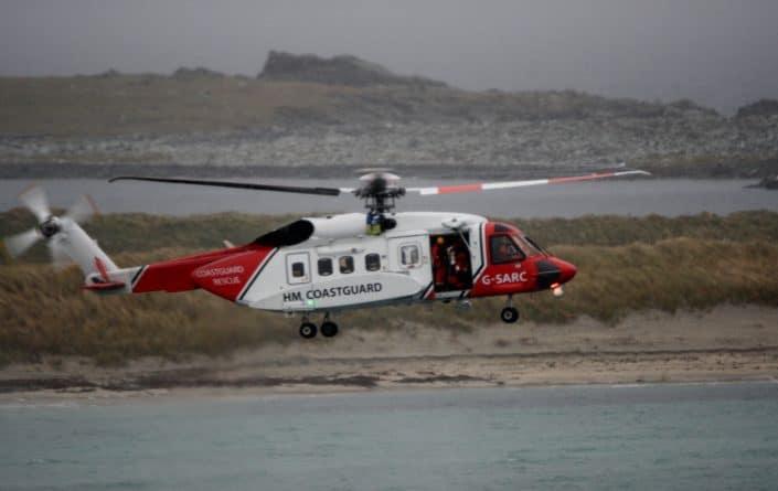 Происшествия: Продолжаются поиски пропавшего у берегов Ирландии вертолета береговой охраны