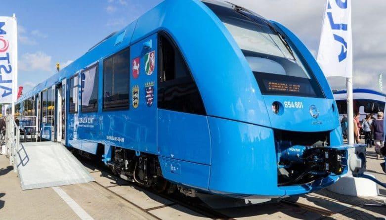 В мире: В Германии протестировали первый в мире полностью экологически чистый поезд