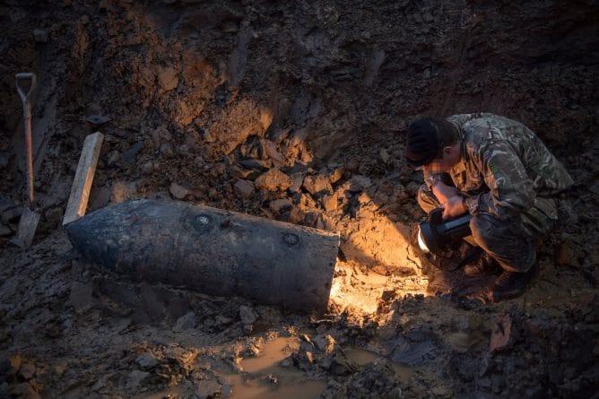 Происшествия: В центре Лондона найдена неразорвавшаяся бомба времен Второй Мировой