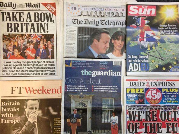 """Политика: Британская пресса: количество """"негативных"""" заголовков о ЕС за 40 лет удвоилось"""