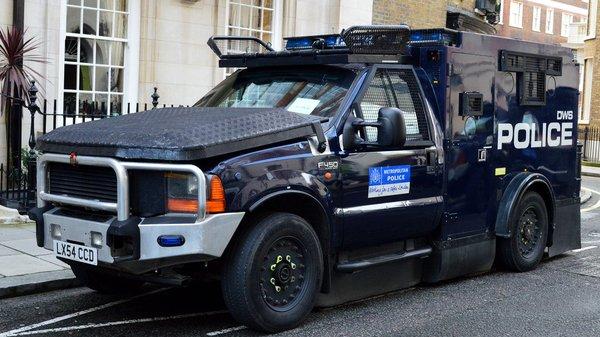 Технологии: На улицах Лондона появятся сверхзащищенные полицейские автомобили