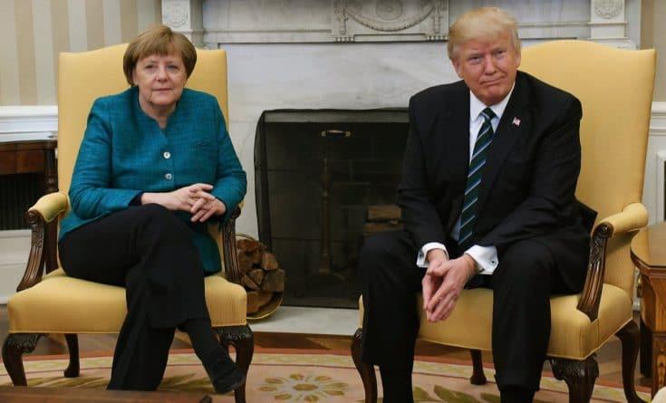 В мире: Трамп отказался пожимать руку Меркель на встрече в Белом доме