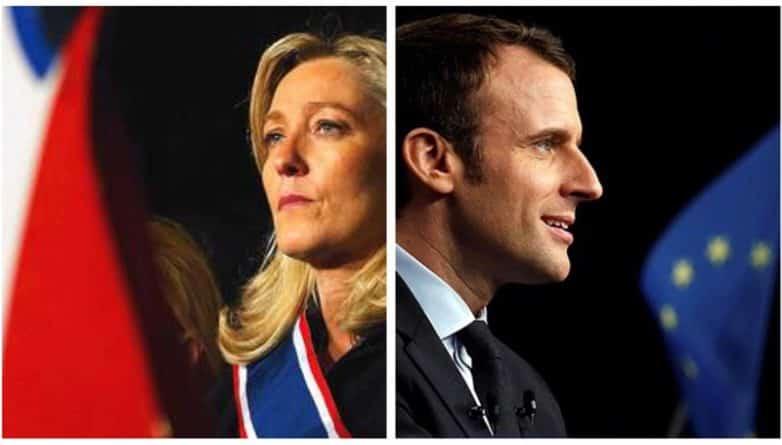 В мире: Эммануэль Макрон и Марин Ле Пен выбились в лидеры гонки за пост президента Франции