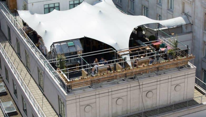 Досуг: Новый бар Sisu на крыше в Oxford Street (с автоматом для негрони)