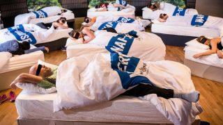 В Лондоне появились фитнес-классы, где необходимо спать,чтобы сжигать калории
