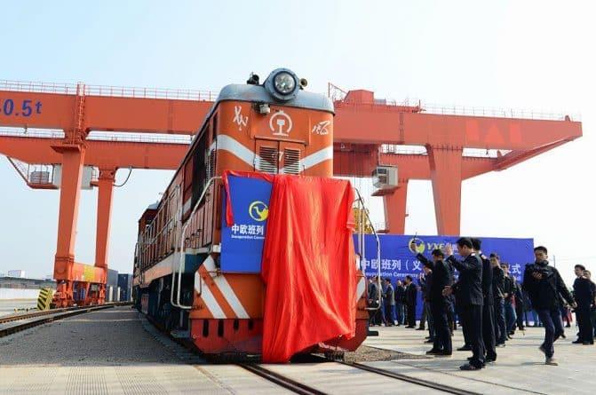 Бизнес и финансы: Прямой поезд из Великобритании в Китай отправился в первое путешествие