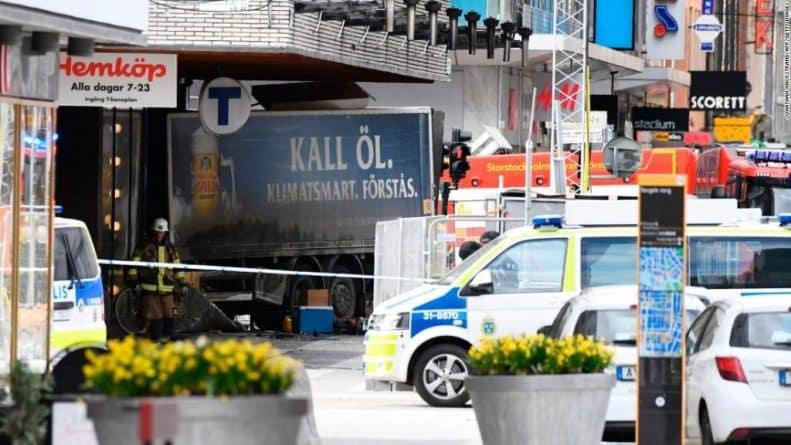 Происшествия: Теракт в Стокгольме. Детали и подробности