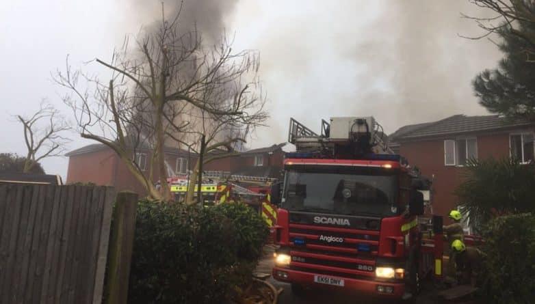Происшествия: Пожар в доме престарелых: двое погибших и 33 человека было спасено