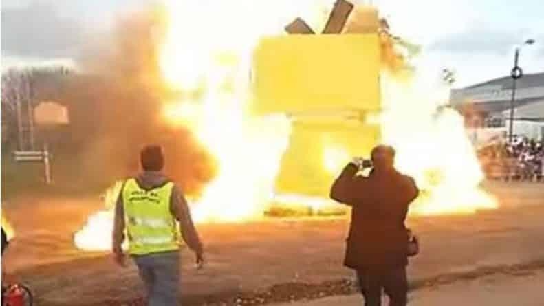 В мире: В пригороде Парижа прогремел взрыв. 18 пострадавших
