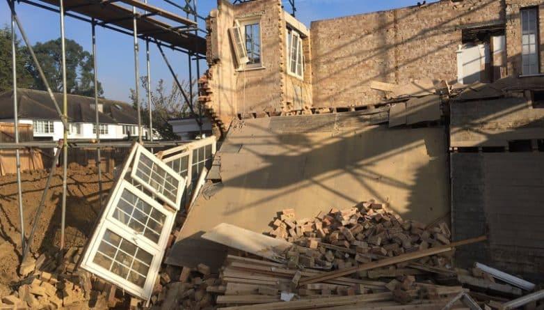Происшествия: В Лондоне рухнул дом стоимостью 1 миллион фунтов