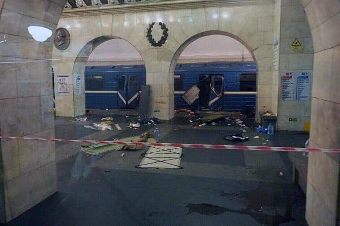 В мире: Взрыв в метро Санкт-Петербурга. Что известно на данный момент?