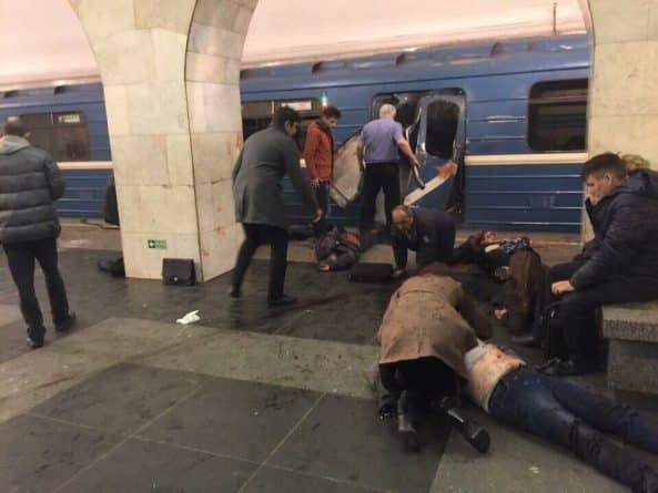 В мире: В России арестован организатор теракта в Питерском метро